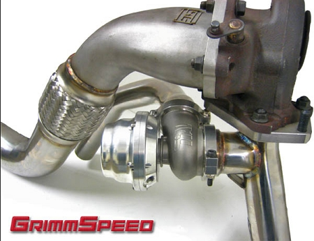 GrimmSpeed 44mm EWG V-Band Uppipe
