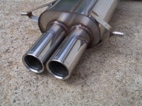 Stromung Dual Muffler 93 to 05 RS,TS