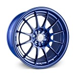 Enkei NT03+M 18x9.5 5x100 40mm Offset Blue Wheel