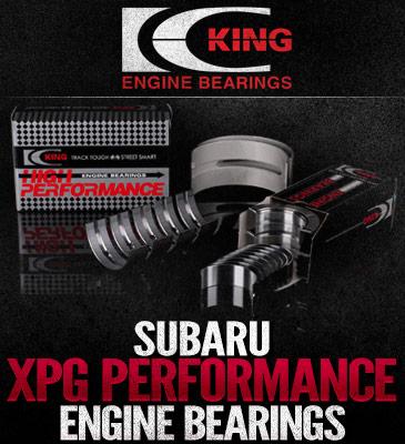 Thrust #5 Pos King Subaru EJ20//EJ22//EJ25 0.25 Tri-Metal Main Bearing Set